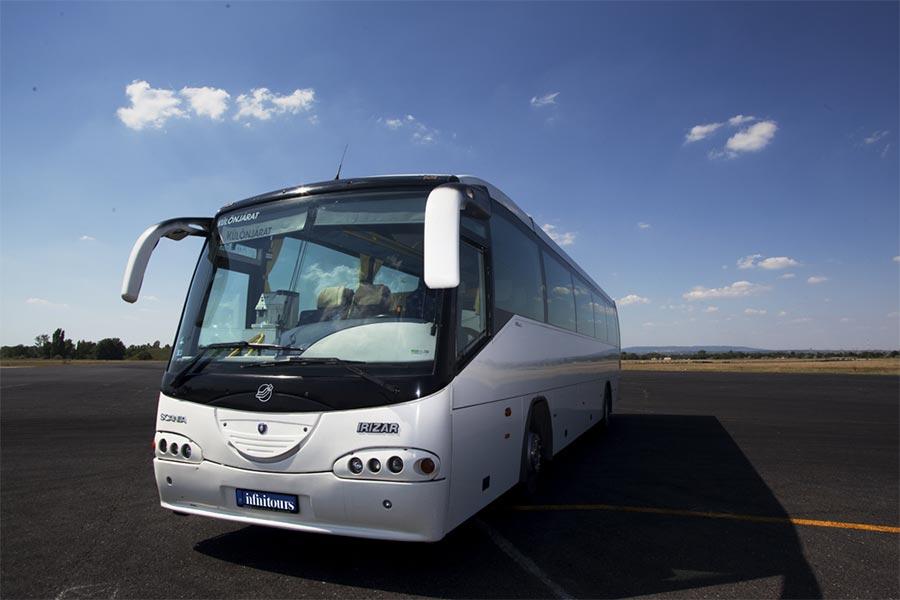 Autóbuszbérlés, buszbérlés, buszkölcsönzés, dolgozói szállítás, különjárat bérlése