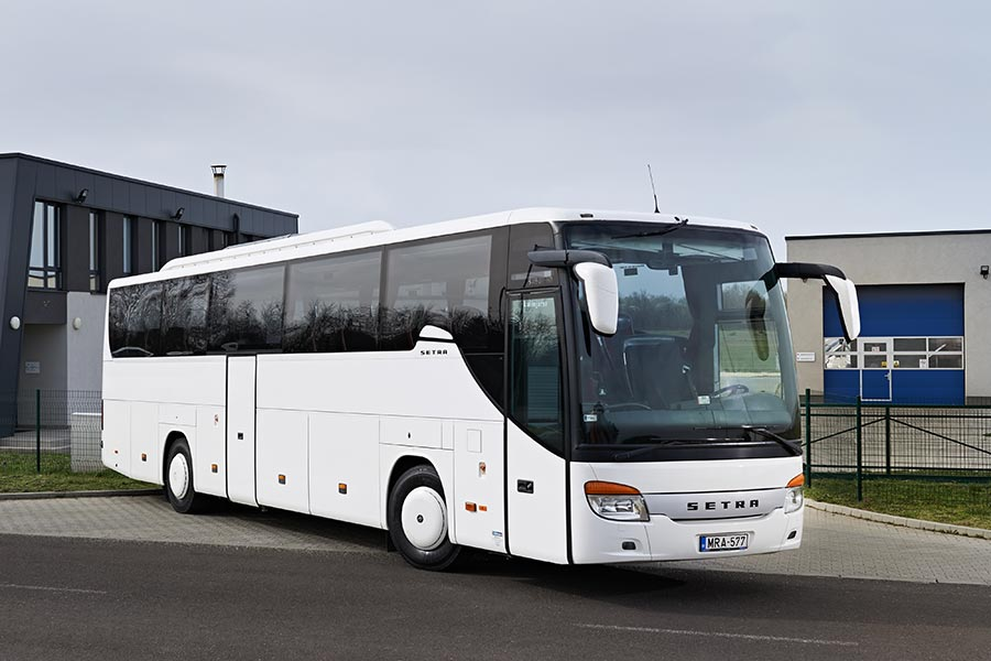 SETRA buszbérlés, buszkölcsönzés, autóbuszok bérlése